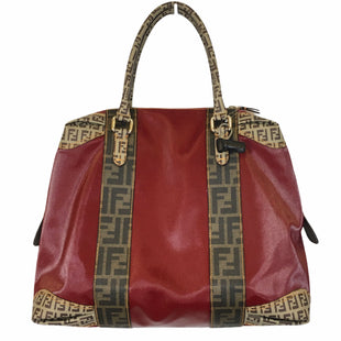 Primary Photo - BRAND: FENDI STYLE: HANDBAG DESIGNER COLOR: RED SIZE: LARGE OTHER INFO: AS IS SKU: 283-283133-17310