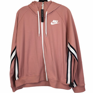 Primary Photo - BRAND: NIKE APPAREL STYLE: ATHLETIC JACKET COLOR: PINK SIZE: XXL SKU: 283-28388-26721