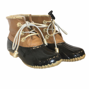 Primary Photo - BRAND: JACK ROGERS STYLE: BOOTS DESIGNER COLOR: BROWN SIZE: 7 OTHER INFO: AS IS SKU: 283-283149-7309