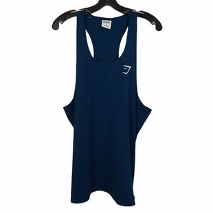 Primary Photo - BRAND: GYM SHARK STYLE: ATHLETIC TANK TOP COLOR: BLUE SIZE: M SKU: 283-283149-6675