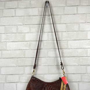 Primary Photo - BRAND: BRAHMIN STYLE: HANDBAG DESIGNER COLOR: BROWN SIZE: MEDIUM OTHER INFO: AS IS SKU: 283-283149-4640