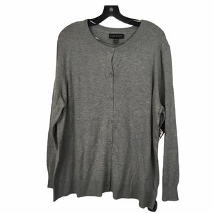 Primary Photo - BRAND: LANE BRYANT STYLE: SWEATER LIGHTWEIGHT COLOR: GREY SIZE: 2X SKU: 283-283149-7007