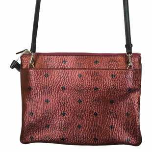 Primary Photo - BRAND: MCM STYLE: HANDBAG DESIGNER COLOR: RED SIZE: MEDIUM OTHER INFO: AS IS SKU: 283-283149-10215