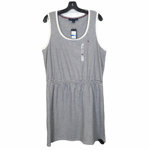 Primary Photo - BRAND: TOMMY HILFIGER STYLE: DRESS SHORT SLEEVELESS COLOR: WHITE SIZE: XL SKU: 283-283149-7330