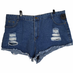 Primary Photo - BRAND: SHEIN STYLE: SHORTS COLOR: DENIM SIZE: 3X SKU: 283-28388-26649