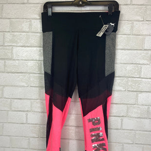 Primary Photo - BRAND: PINK STYLE: ATHLETIC CAPRIS COLOR: BLACK SIZE: M SKU: 283-28312-4034