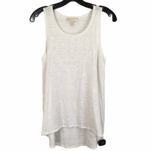 Primary Photo - BRAND: MICHAEL BY MICHAEL KORS STYLE: TOP SLEEVELESS COLOR: WHITE SIZE: S SKU: 283-283134-10231