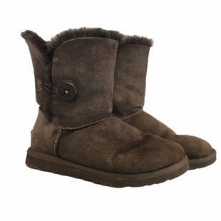 Primary Photo - BRAND: UGG STYLE: BOOTS DESIGNER COLOR: BROWN SIZE: 6 OTHER INFO: AS IS SKU: 283-283134-8688