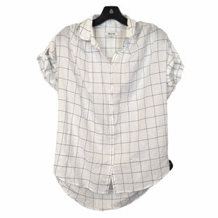 Primary Photo - BRAND: MADEWELL STYLE: TOP SHORT SLEEVE COLOR: WHITE SIZE: XS SKU: 283-28388-10469