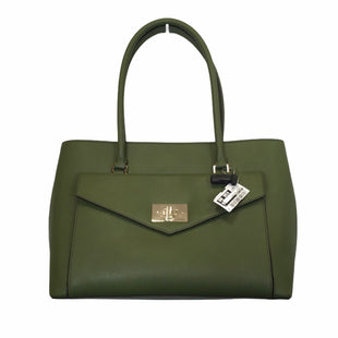 Primary Photo - BRAND: KATE SPADE STYLE: HANDBAG DESIGNER COLOR: GREEN SIZE: LARGE OTHER INFO: NWT MODEL NUMBER: HALSEY BAG SKU: 283-283148-199