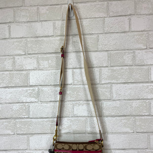 Primary Photo - BRAND: COACH STYLE: HANDBAG DESIGNER COLOR: BROWN SIZE: SMALL SKU: 283-283149-3693
