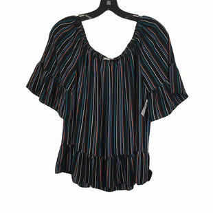 Primary Photo - BRAND: ANN TAYLOR LOFT O STYLE: TOP SHORT SLEEVE COLOR: BLACK SIZE: S SKU: 283-283134-10501