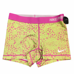 Primary Photo - BRAND: NIKE APPAREL STYLE: ATHLETIC SHORTS COLOR: PINKGREEN SIZE: S SKU: 283-283142-2704