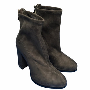 Primary Photo - BRAND: GUESS STYLE: BOOTS ANKLE COLOR: GREY SIZE: 8 OTHER INFO: AS IS SKU: 283-283124-22154