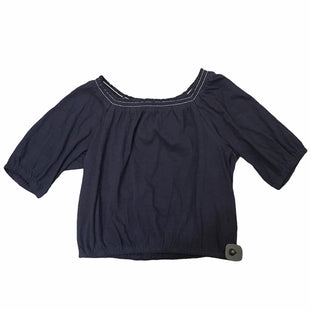 Primary Photo - BRAND: LOFT STYLE: TOP SHORT SLEEVE COLOR: NAVY SIZE: M SKU: 283-283149-9678