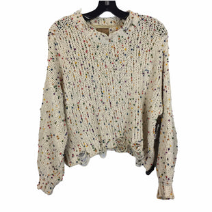 Primary Photo - BRAND: POL STYLE: SWEATER LIGHTWEIGHT COLOR: CREAM SIZE: S SKU: 283-28388-27456