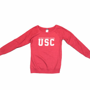 Primary Photo - BRAND:    CLOTHES MENTOR STYLE: TOP LONG SLEEVE COLOR: RED SIZE: S OTHER INFO: CREATIVE APPAREL - UNIVERSITY OF SOUTH CAROLINA G SKU: 283-283133-16212