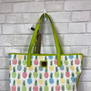 Primary Photo - BRAND: DOONEY AND BOURKE STYLE: HANDBAG DESIGNER COLOR: GREEN SIZE: MEDIUM OTHER INFO: AS IS SKU: 283-28388-12749