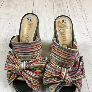 Primary Photo - BRAND: SAM EDELMAN STYLE: SANDALS HIGH COLOR: MULTI SIZE: 9.5 SKU: 283-283133-14016