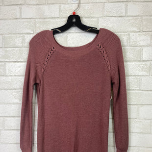 Primary Photo - BRAND: AMERICAN EAGLE STYLE: SWEATER LIGHTWEIGHT COLOR: MAUVE SIZE: S SKU: 283-283135-3087