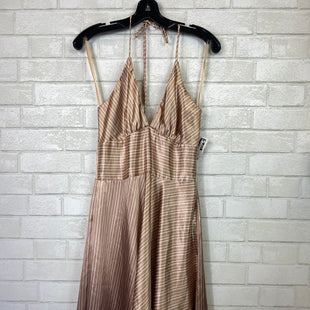 Primary Photo - BRAND: ALYN PAIGE STYLE: DRESS SHORT SLEEVELESS COLOR: BROWN SIZE: M SKU: 283-283151-799