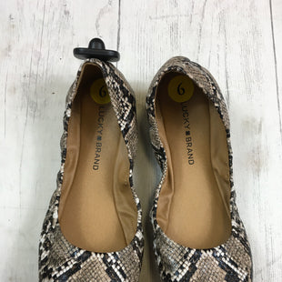 Primary Photo - BRAND: LUCKY BRAND STYLE: SHOES FLATS COLOR: SNAKESKIN PRINT SIZE: 6 SKU: 283-283142-1305