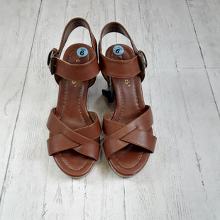 Primary Photo - BRAND: PESARO STYLE: SANDALS HIGH COLOR: BROWN SIZE: 6 OTHER INFO: AS IS SKU: 283-28388-7987
