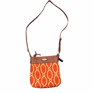 Primary Photo - BRAND: SPARTINA STYLE: HANDBAG DESIGNER COLOR: ORANGE SIZE: SMALL OTHER INFO: AS IS SKU: 283-283149-6183