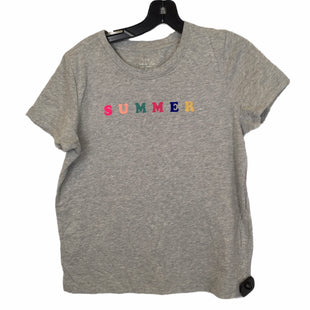 Primary Photo - BRAND: J CREW O STYLE: TOP SHORT SLEEVE BASIC COLOR: GREY SIZE: M SKU: 283-283135-4905