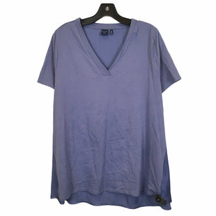 Primary Photo - BRAND: KAARI BLUE STYLE: TOP SHORT SLEEVE COLOR: BLUE SIZE: 1X SKU: 283-28388-26729