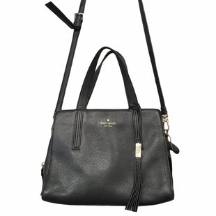 Primary Photo - BRAND: KATE SPADE STYLE: HANDBAG DESIGNER COLOR: BLACK SIZE: MEDIUM OTHER INFO: AS IS SKU: 283-283124-22609