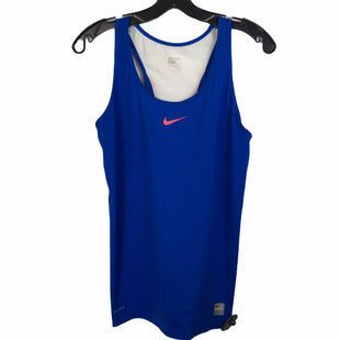 Primary Photo - BRAND: NIKE APPAREL STYLE: ATHLETIC TANK TOP COLOR: BLUE SIZE: M SKU: 283-283149-8136