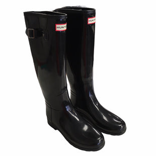 Primary Photo - BRAND: HUNTER STYLE: BOOTS DESIGNER COLOR: BLACK SIZE: 7 OTHER INFO: AS IS SKU: 283-28388-27389