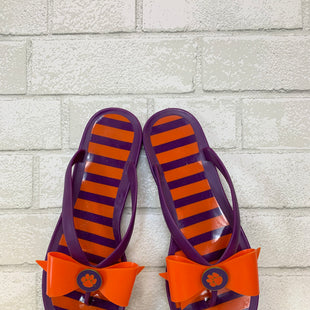 Primary Photo - BRAND:    CLOTHES MENTOR STYLE: SANDALS FLAT COLOR: PURPLE SIZE: 9 SKU: 283-28388-12070