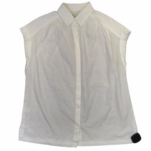 Primary Photo - BRAND: ANN TAYLOR LOFT STYLE: TOP SHORT SLEEVE COLOR: WHITE SIZE: M SKU: 283-283135-4896