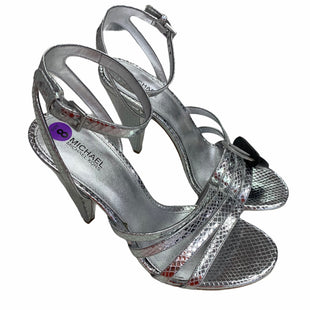 Primary Photo - BRAND: MICHAEL BY MICHAEL KORS STYLE: SANDALS HIGH COLOR: SILVER SIZE: 8 SKU: 283-283142-2678