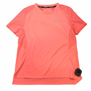 Primary Photo - BRAND: NIKE APPAREL STYLE: ATHLETIC TOP COLOR: ORANGE SIZE: S SKU: 283-283134-10514