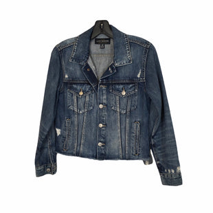 Primary Photo - BRAND: LUCKY BRAND STYLE: JACKET OUTDOOR COLOR: DENIM SIZE: S SKU: 283-283133-16320