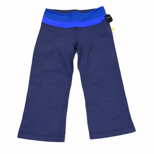 Primary Photo - BRAND: LULULEMON STYLE: ATHLETIC CAPRIS COLOR: BLUE SIZE: 2 SKU: 283-28388-20149