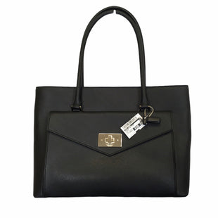 Primary Photo - BRAND: KATE SPADE STYLE: HANDBAG DESIGNER COLOR: BLACK SIZE: LARGE OTHER INFO: NWT MODEL NUMBER: HALSEY BAG SKU: 283-283148-198