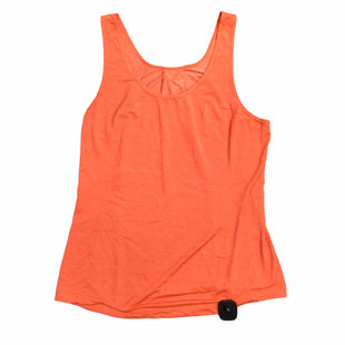 Primary Photo - BRAND: LULULEMON STYLE: ATHLETIC TANK TOP COLOR: ORANGE SIZE: M SKU: 283-28388-23019