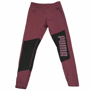 Primary Photo - BRAND: PUMA STYLE: ATHLETIC PANTS COLOR: BURGUNDY SIZE: L SKU: 283-283124-22834