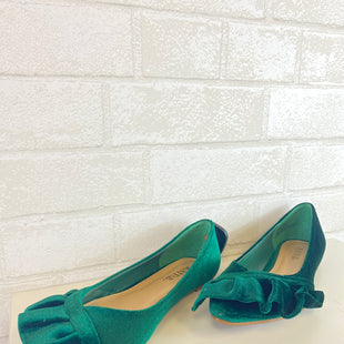 Primary Photo - BRAND: JUST FAB STYLE: SHOES FLATS COLOR: GREEN SIZE: 7 SKU: 283-283135-2207