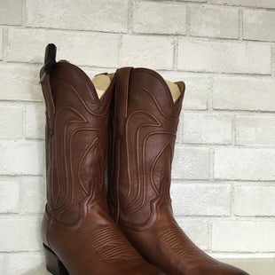 Primary Photo - BRAND:    TEVOCASSTYLE: BOOTS DESIGNER COLOR: BROWN SIZE: 9 OTHER INFO: AS IS SKU: 283-283124-20785
