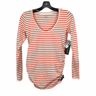 Primary Photo - BRAND: OLD NAVY STYLE: MATERNITY TOP LONG SLEEVE COLOR: ORANGE SIZE: XS SKU: 283-28388-19730