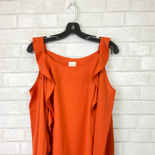 Primary Photo - BRAND: CHICOS STYLE: TOP LONG SLEEVE COLOR: ORANGE SIZE: S SKU: 283-283104-6563