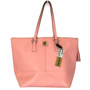 Primary Photo - BRAND: DOONEY AND BOURKE STYLE: HANDBAG DESIGNER COLOR: PEACH SIZE: LARGE SKU: 283-283133-17302