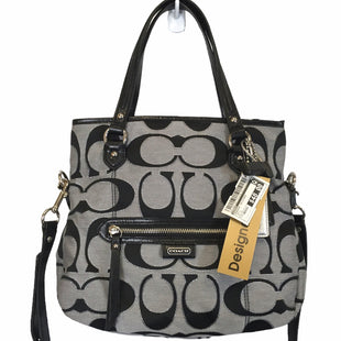 Primary Photo - BRAND: COACH STYLE: HANDBAG DESIGNER COLOR: GREY SIZE: MEDIUM OTHER INFO: AS IS SKU: 283-283149-10154