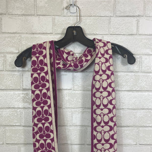 Primary Photo - BRAND: COACH STYLE: SCARF COLOR: PURPLE SKU: 283-28389-40946
