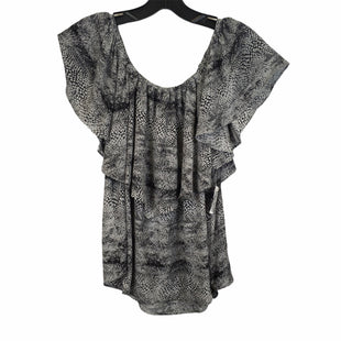 Primary Photo - BRAND:    CLOTHES MENTOR STYLE: TOP SHORT SLEEVE COLOR: SNAKESKIN PRINT SIZE: L OTHER INFO: VERONICA ,M  - SKU: 283-283135-5326